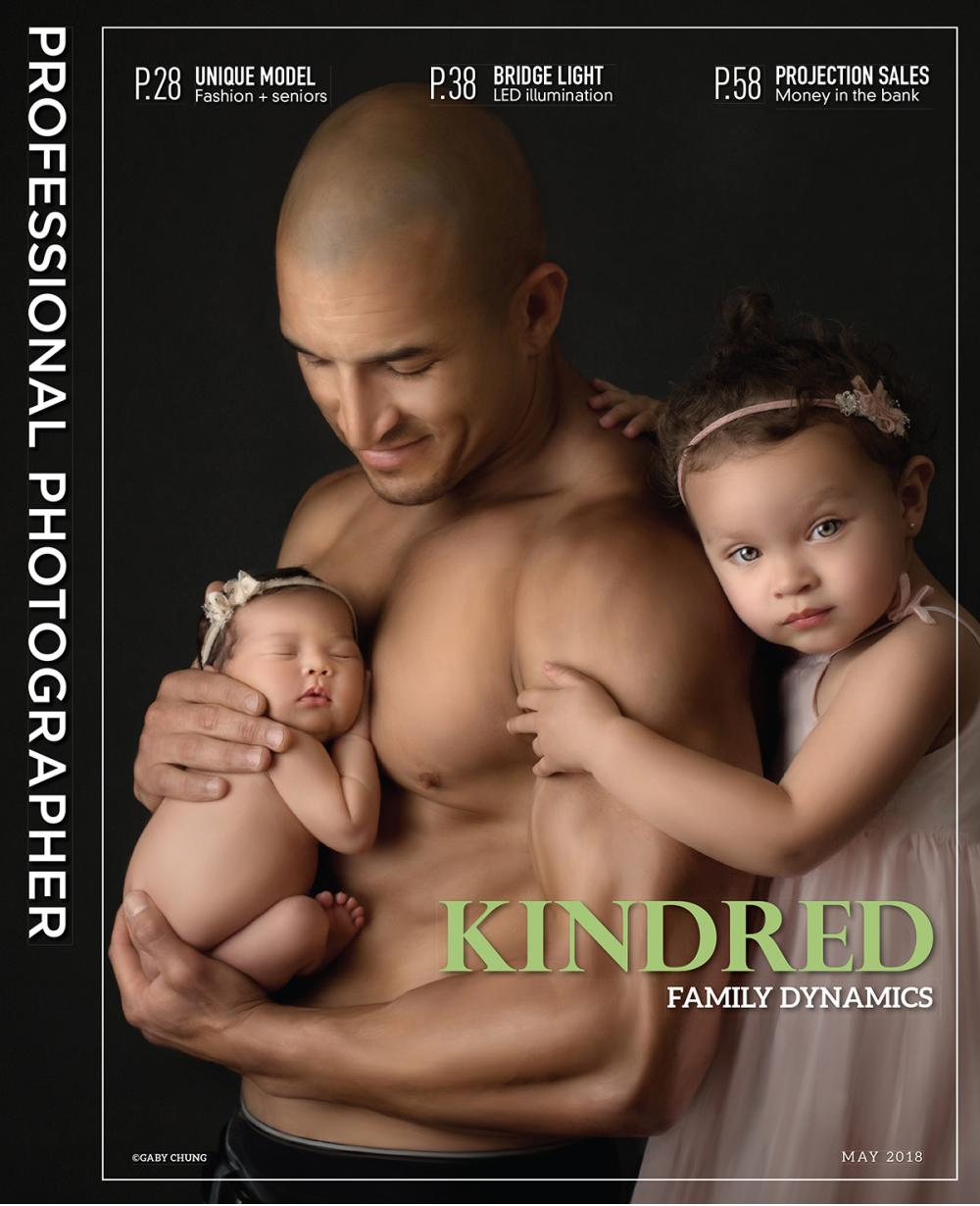 Newborn daughter and father photo in Pasadena